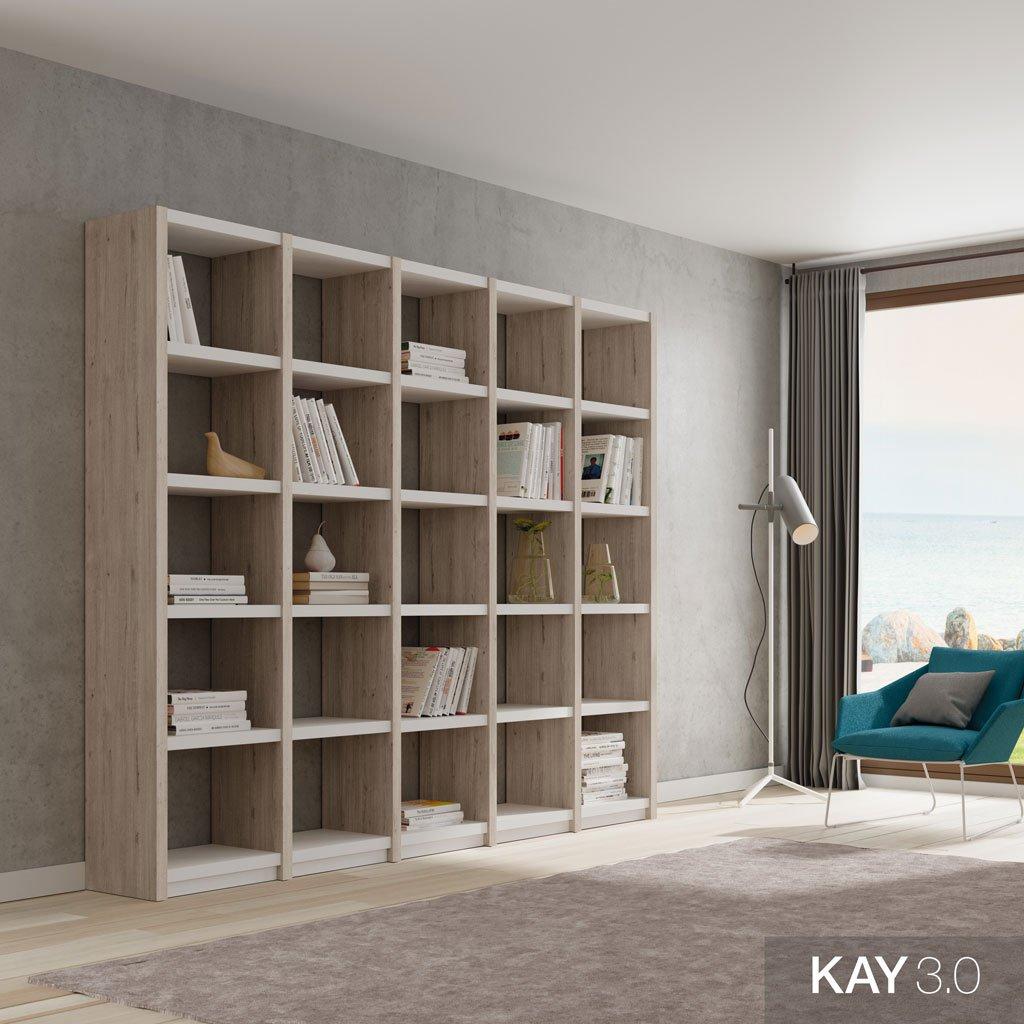 Librerías estanterías como complemento en el salón o el comedor