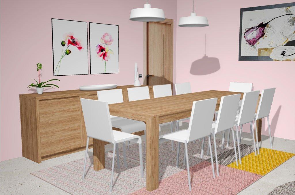 Tienes que tener en tu casa una gran mesa de comedor extensible