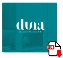 Descarga el catálogo fotográfico DUNA de Salones y Comedores