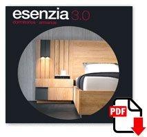 Descarga el catálogo fotográfico ESENZIA 3.0 de Dormitorios y Armarios