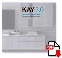 Descarga el catálogo fotográfico KAY 3.0 de Salones y Comedores