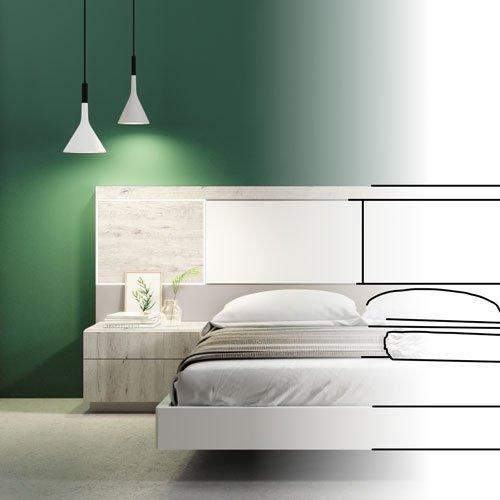 Catálogo de dormitorios de matrimonio modernos y actuales