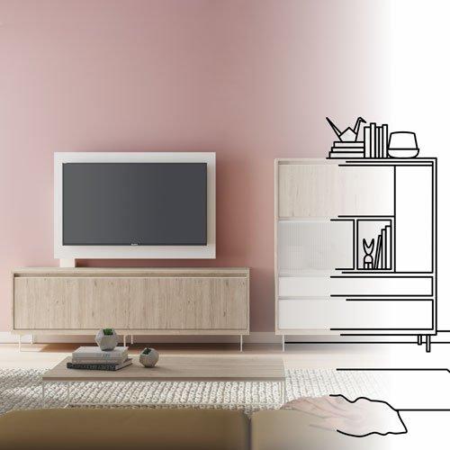 Catálogos de salones modernos con diseño y funcionales