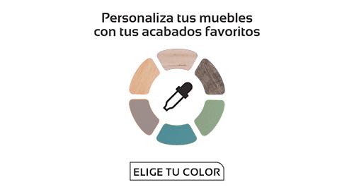 Colores y acabados de las diferentes colecciones