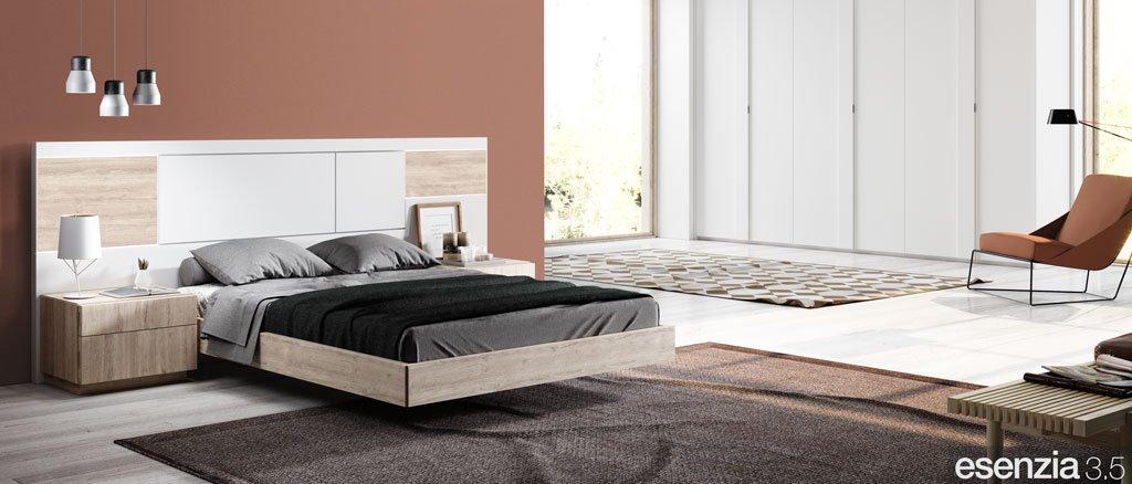 Muebles de dormitorio moderno con el cabecero de cama modelo Florida