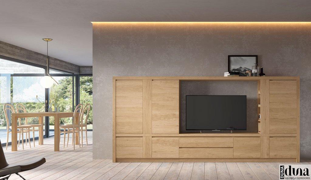 Mobiliario para el salón comedor en color Teka