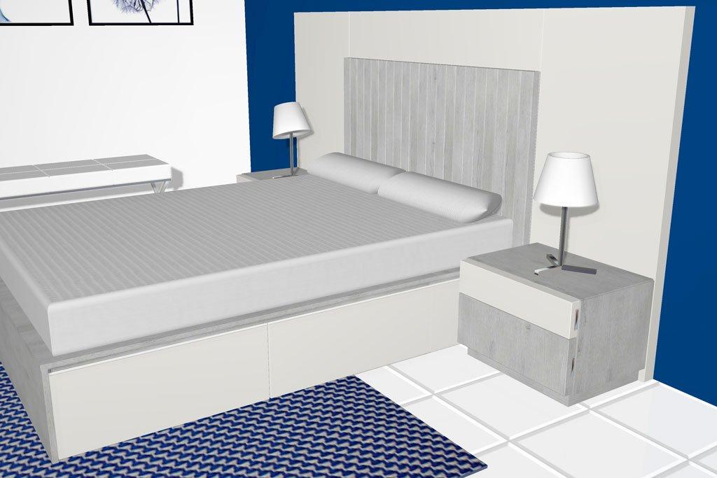 Un diseño de dormitorio de matrimonio que todas deseamos tener