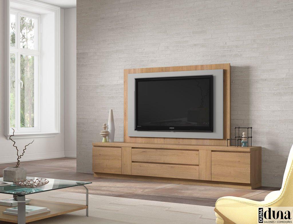 Mueble televisión con panel TV giratorio
