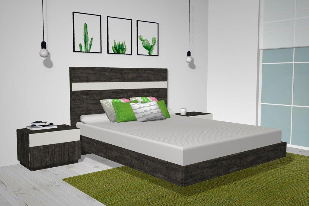Atrévete y coloca los muebles del dormitorio en color Borneo