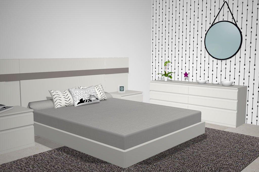 La habitación de matrimonio que proporciona descanso y relajación