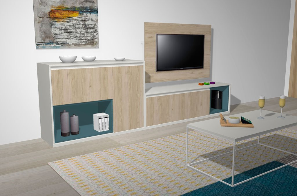 Muebles actuales para el salón comedor pensados para gente como TU