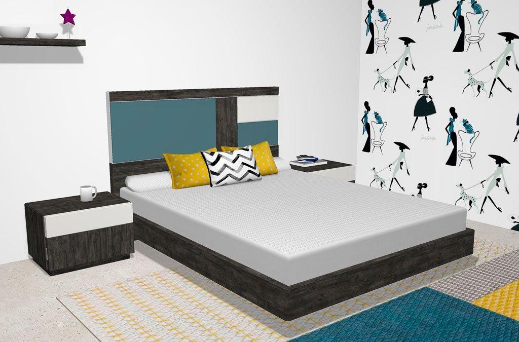 Cabezales con luz led en el dormitorio que tienen personalidad propia