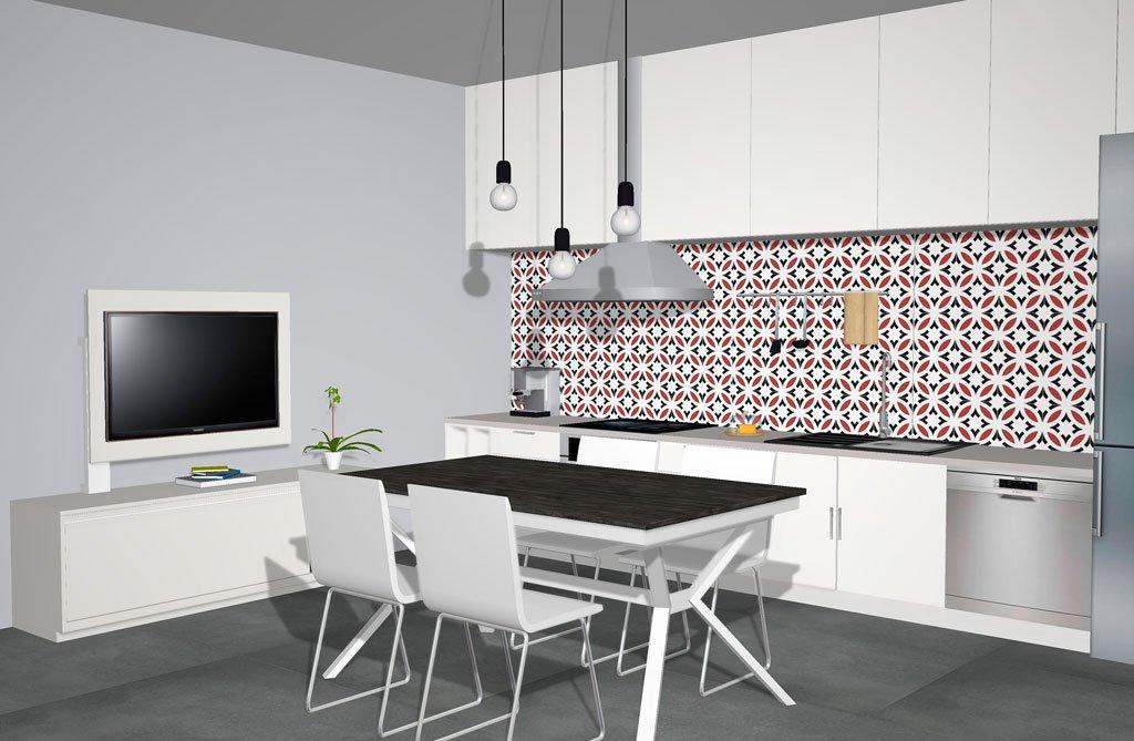 Muebles del catálogo Kay en una cocina muy aktual