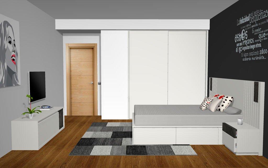 Una habitación muy completa con los muebles de Esenzia 3.5