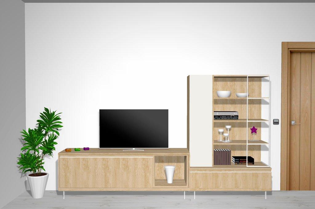 Muebles para un salón comedor moderno y actual