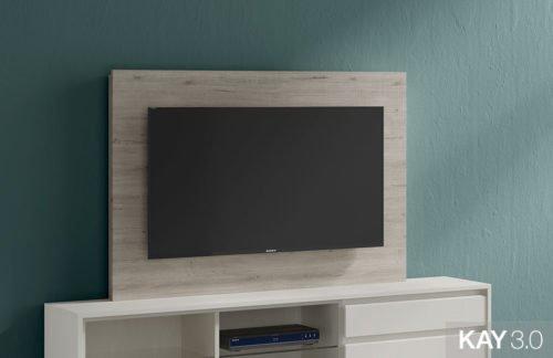 Panel TV fijo modelo 107 de la colección KAY 3.0