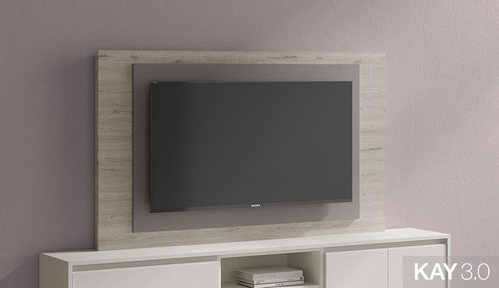 Panel TV giratorio modelo 105 de 165x100 cm del catálogo KAY 3.0
