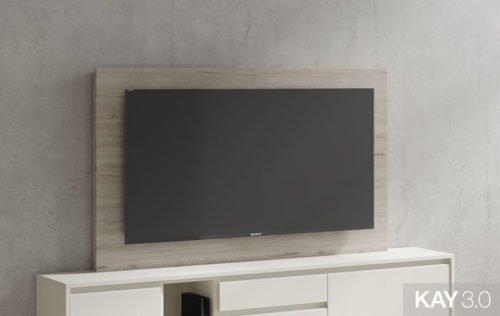 Panel TV fijo de gran formato modelo 122 de la colección KAY 3.0