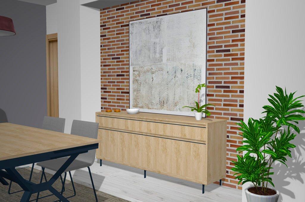 Muebles para el salón comedor con un toque de modernidad
