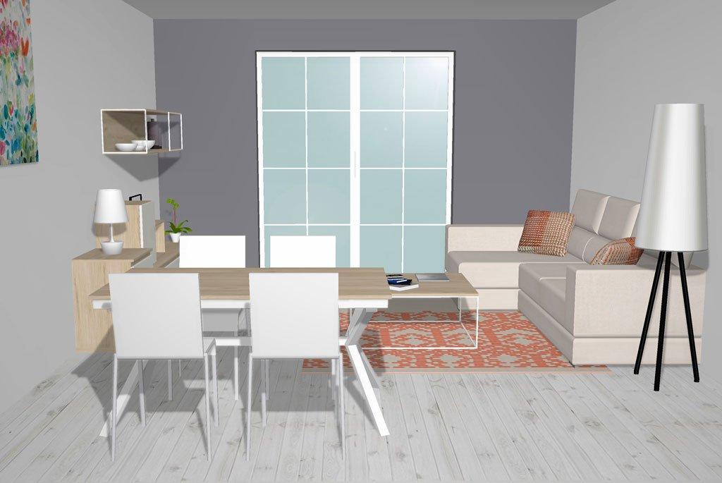 Salón comedor para disfrutar en familia, muebles con personalidad